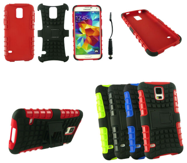 Heavy Duty Dual Layer Tough Robust Military Case Cover & Stylus