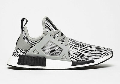 Adidas Originals NMD_XR1 Primeknit  'Oreo' in Core Black/Soft Grey/White BY1910