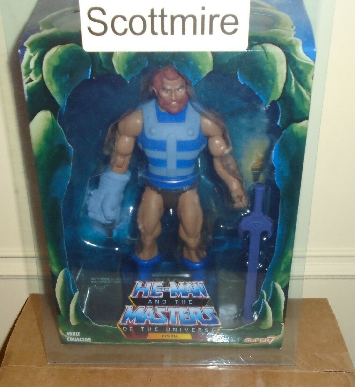 Masters of the Universe Filmation Fisto, by Super 7