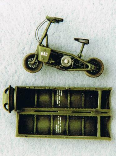 WELBIKE moto Britannique aéroportée Kit HORNET 1//35 Réf WW2 Container TH1