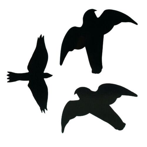 Trixie Préhension Oiseau Silhouettes Oiseau Autocollant Vitres Fenêtre Autocollant