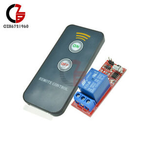 12V-1-Channel-Infrared-Switch-Relay-Driving-Module-Board-Remote-Controller