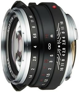 NEW-VoightLander-single-focus-lens-NOKTON-classic-40-mm-F1-4-131507-From-JAPAN