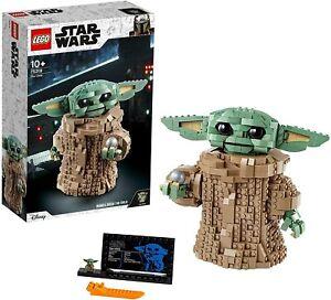 ULTIMA-NUEVO-75318-LEGO-STAR-WARS-BABY-YODA-MANDALORIAN-NINO-ENVIO-72-H-PAYPAL