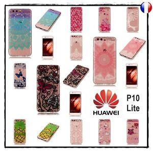 Etui-housse-coque-transparente-silicone-Case-Cover-Soft-Gel-TPU-Huawei-P10-Lite