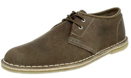 Clarks Original's Men's Jink Oxford Taupe Distressed Suede Casual shoes 78156