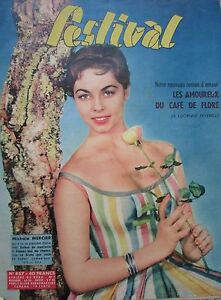 Cinema-Romanzi-Photos-Rivista-Festival-N-457-di-1958-Michele-Mercier-J-C
