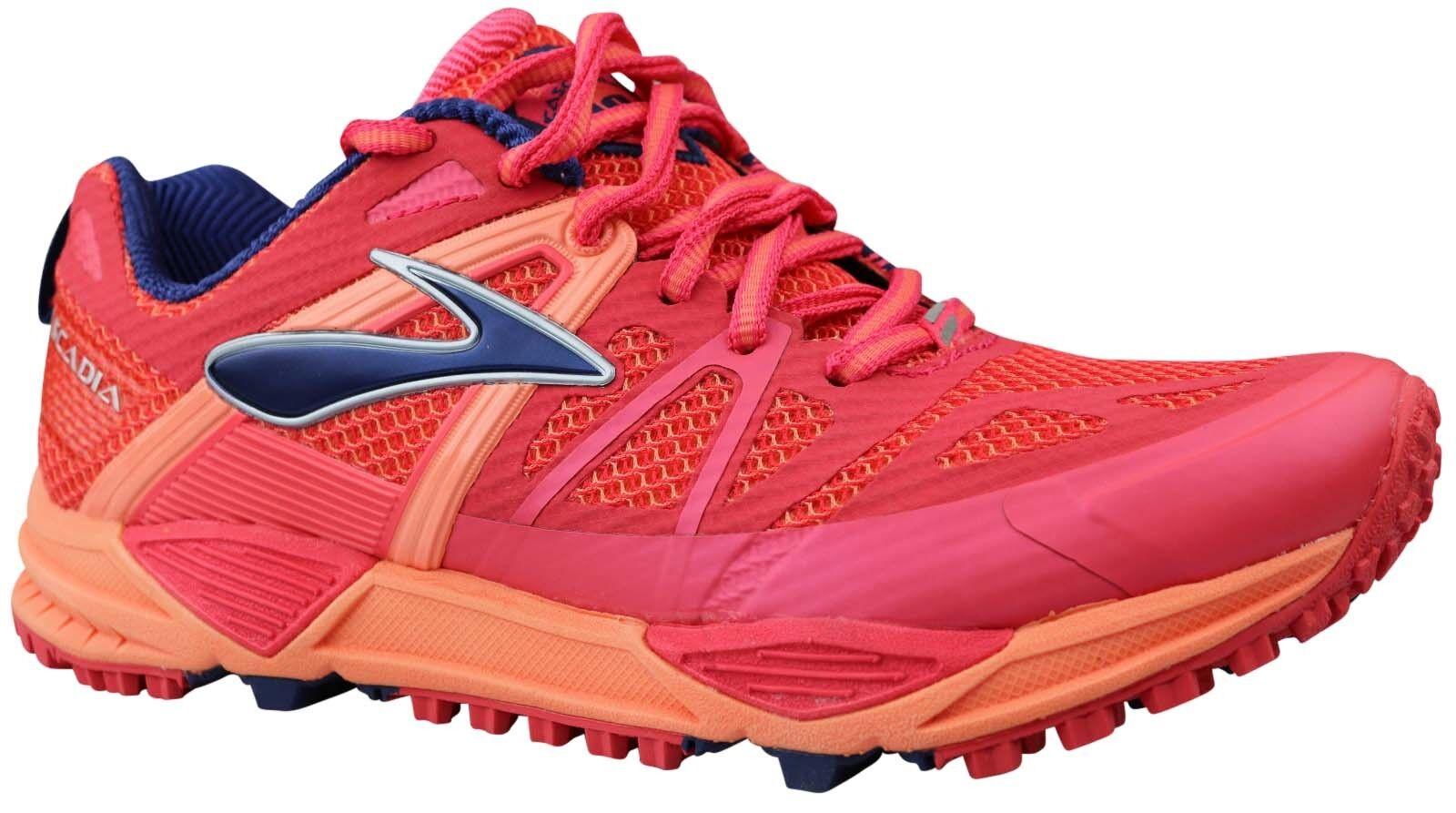 Brooks cascadia 10 señora mujer trailzapatos zapatillas rojo & 36,5 nuevo & OVP