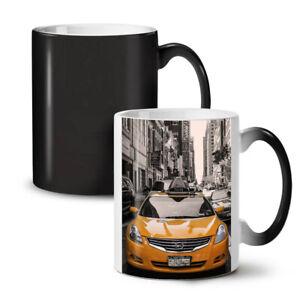 Big City Street Life NEW Colour Changing Tea Coffee Mug 11 oz | Wellcoda