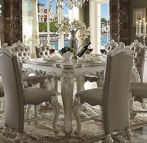 Image Is Loading Acme Furniture White Versailles Dining Room Set Classic