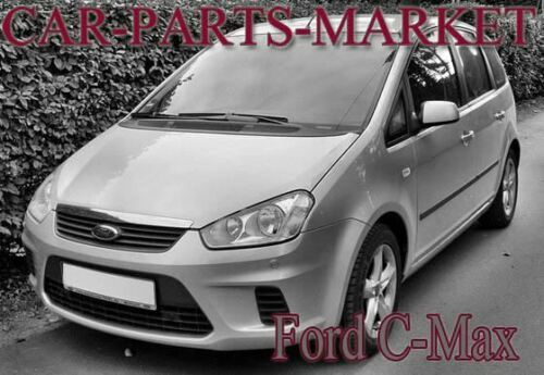For Ford C-Max 03-09 Left passenger Flat Electric wing mirror glass plate