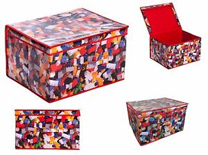 Children Foldable Pop Up Large Storage Chest Toy Book Jumbo Box Tidy Vintage