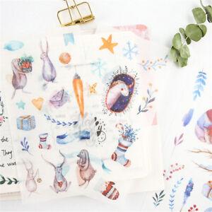 6pcs-Fairy-tale-world-Adhesive-Stickers-DIY-Decor-Diary-Stationery-Sticker-Gi-iv