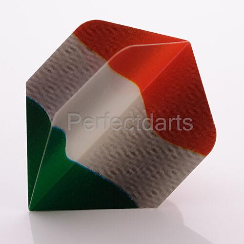 5 x SETS UNICORN IRELAND IRISH FLAG DART FLIGHTS Standard Shape