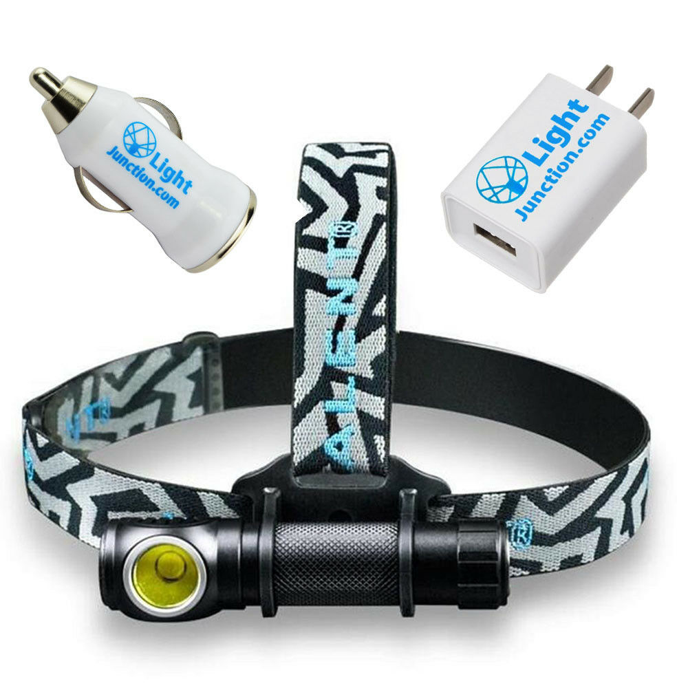 IMALENT HR70  XHP70.2 (3000 Lumens) LED Headlamp + USB Car + Wall Adapters  outlet