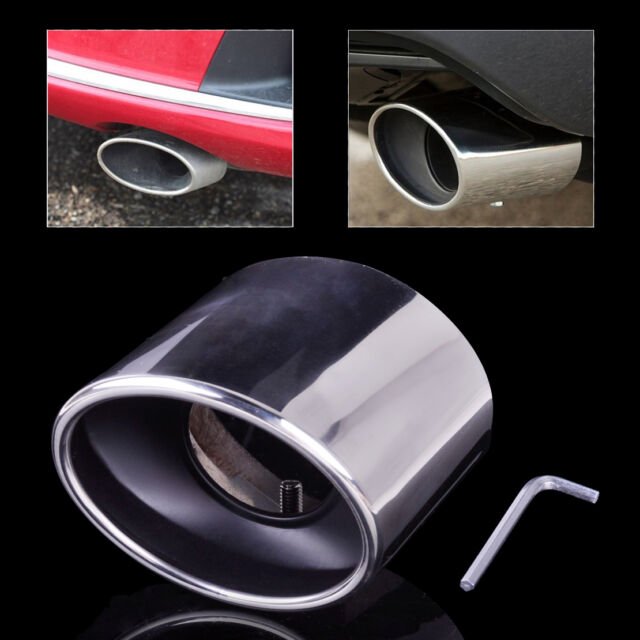 For Honda Accord 2008-2012 STAINLESS STEEL EXHAUST TAIL REAR MUFFLER TIP PIPE