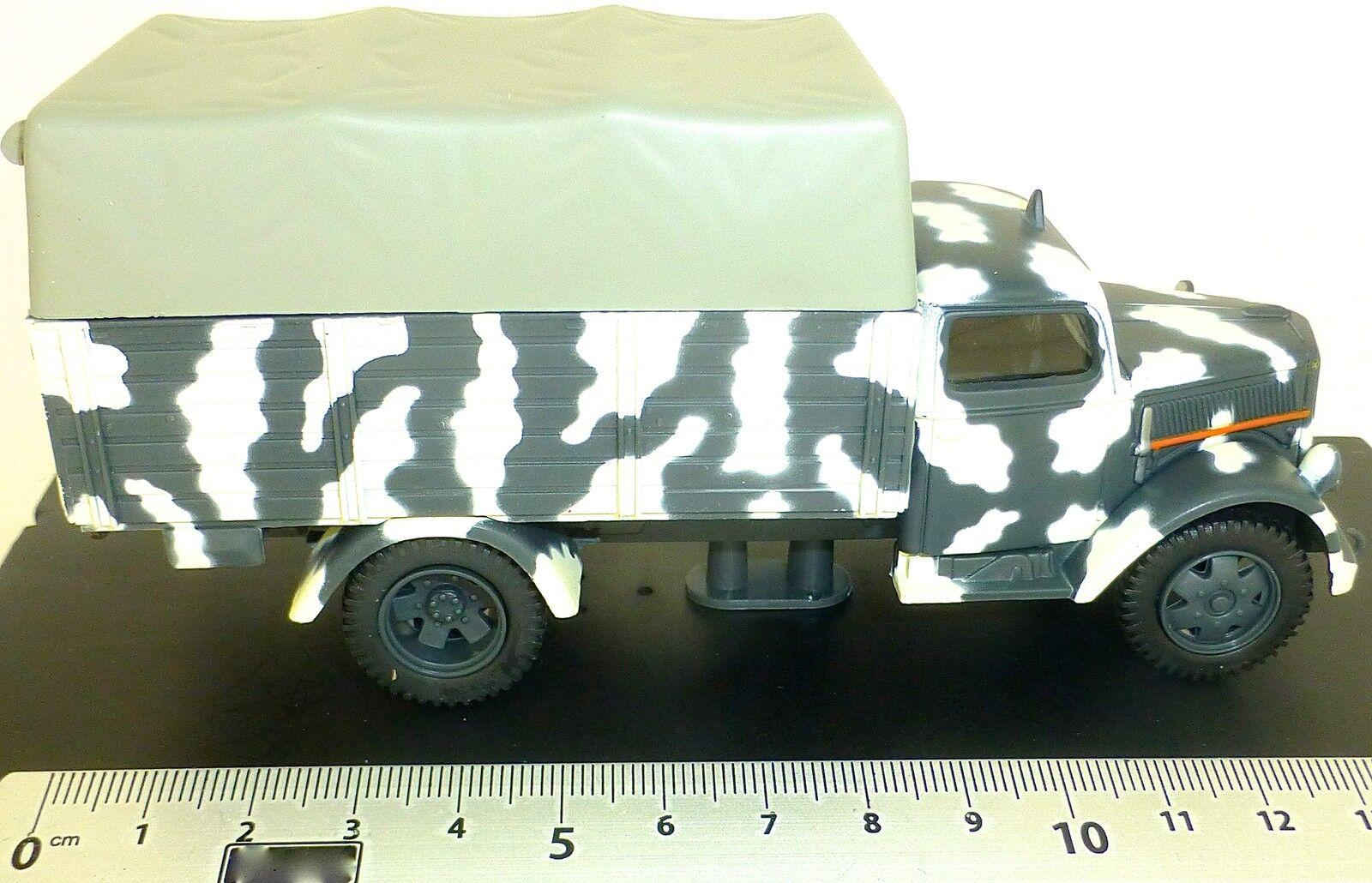 Opel Blitz Wehrmacht Wehrmacht Wehrmacht Pritschen LKW 1944 Canvas Covered 1 43 NEU å UR3 59fbfa