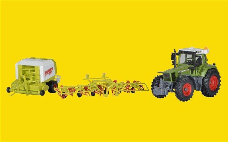 KIBRI 12233 h0 tracteur FENDT avec culture périphériques