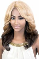 Motown Tress Synthetic Long Wave Style Wig, Deep Part Lxp Teo Lace Front Wig