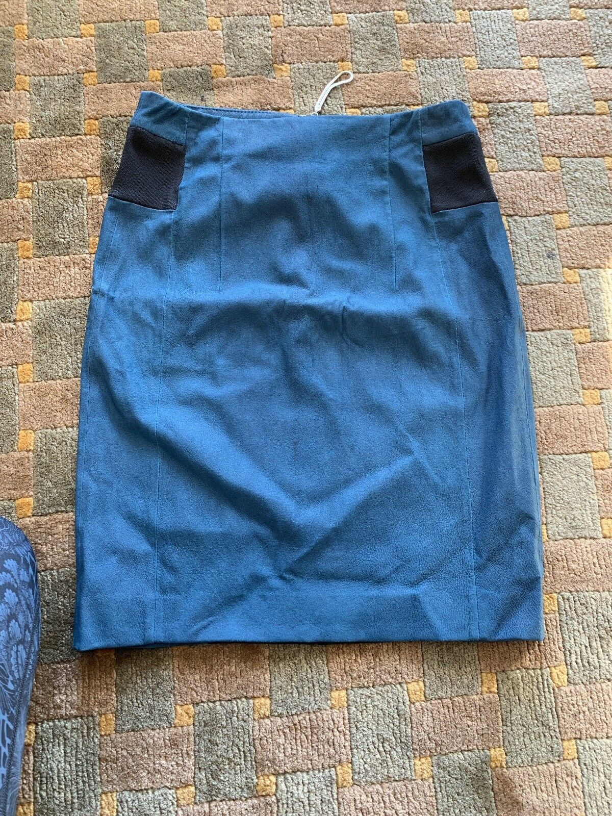 Rebecca Taylor Pencil Skirt new with Tags. Lamb Leather with spandex.