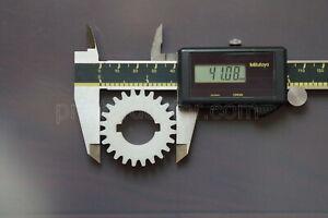 ATLAS CRAFTSMAN 10 12 inch lathe 24 tooth 3/4 keyed bore gear Nylon US made FDM