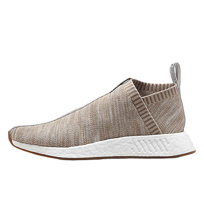 ADIDAS CONSORTIUM X NAKED X KITH NMD CS2 PRIMEKNIT GREY KHAKI SIZES UK 6 & 7 NEW