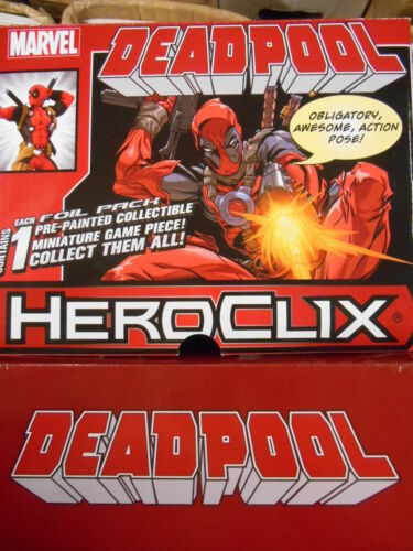 "MARVEL Heroclix DEADPOOL /""ULTIMATUM maggiore/"" Figura Marvel//WizKids"