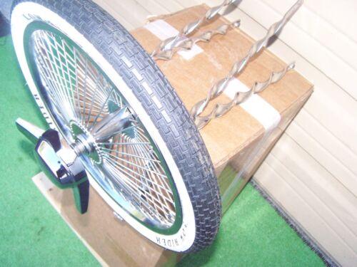 Twisted Lowrider Kit Roue//Pneu//Tube Vélo BMX NEUF