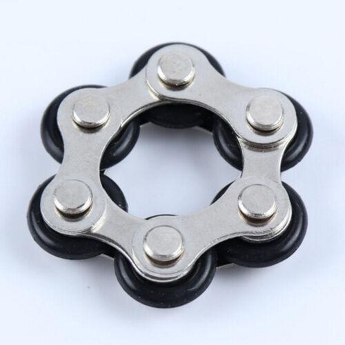 One-handed Finger chain Decompression Toys  Spinner Fidgets  VT