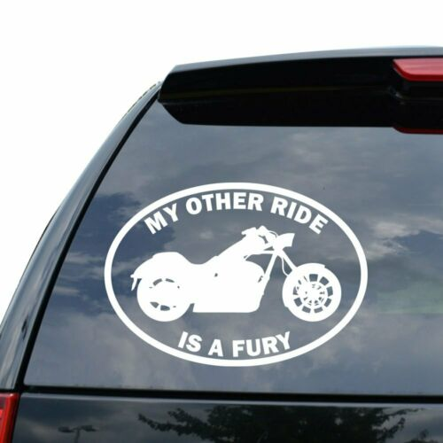 MY OTHER RIDE HONDA FURY MOTORCYCLE MOTORBIKE Decal Sticker Car Truck Motorcycle