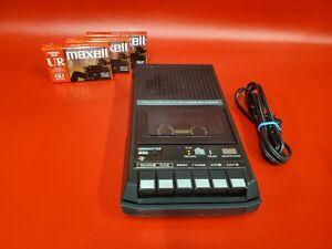 Texas-Instruments-Program-Cassette-Recorder-PHP-2700-Black-with-3-New-Cassettes