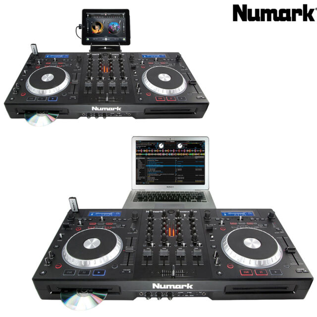 numark mixdeckquad 3 digital dj controllers for sale online ebay. Black Bedroom Furniture Sets. Home Design Ideas