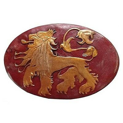 GAME OF THRONES New House of LANNISTER Lion Sigil SHIELD PIN Badge Dark Horse