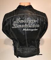 Harley Davidson Women's Leather Jacket Size Small