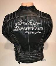 New Harley Davidson Women's Leather Jacket New Size Small