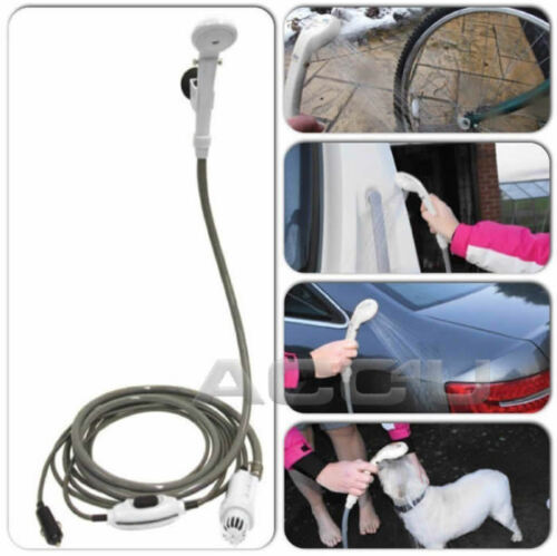 SW 12v Car Plug Camping Caravan Outdoor Festivals Portable Porta Shower System