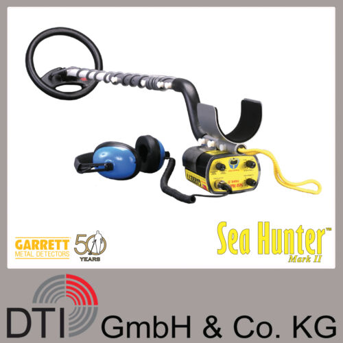 Metallsonde Unterwasserdetektor Garrett SeaHunter Mark II Metalldetektor