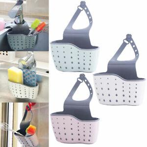 Sink-Shelf-Soap-Sponge-Drain-Rack-Bathroom-Holder-Kitchen-Storage-Hanging
