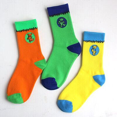New Nike SB Dunk Low Grateful Dead Bears CJ5378 Custom Crew Matching Color Socks   eBay
