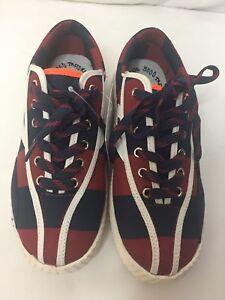Size Sneakers 3000 Blue Tretorn Red Andre Navy White Orange Women's ulT1FKJc3