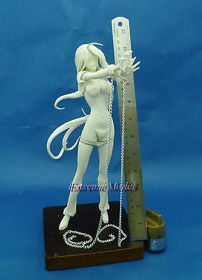 "Charitable 11"" Tall 1/6 Ikkitousen: Kan-u Unchou In Shackle Ver. Unpainted Resin Model Kit For Sale"