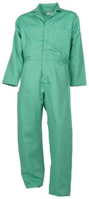 Visual Green Flame Resistant Coverall- Proban®//FR-7A® -NEW-some made in the USA