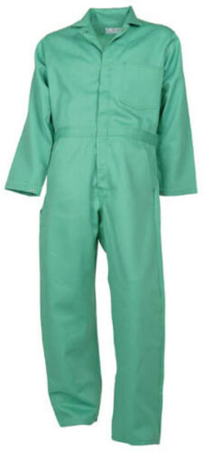 Visual Green Flame Resistant Coverall- -NEW-some made in the USA Proban®//FR-7A®