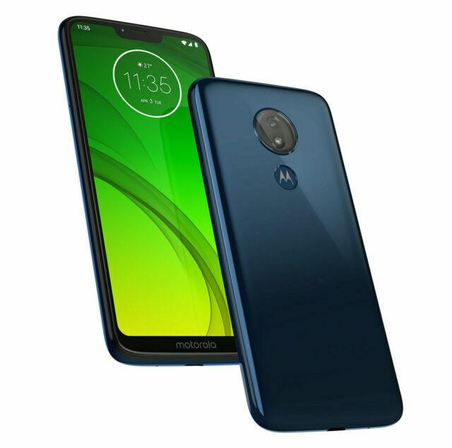 Motorola Moto G7 Power 32gb Marine Blue Metropcs Smartphone For Sale Online Ebay