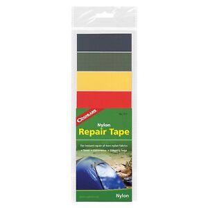 Coghlan-039-s-Nylon-Repair-Tape-Rip-Stop-Adhesive-Kit-Backing-Camping-Tent-Jacket