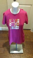 The North Face Womens Short Sleeve Never Stop Tee Shirt