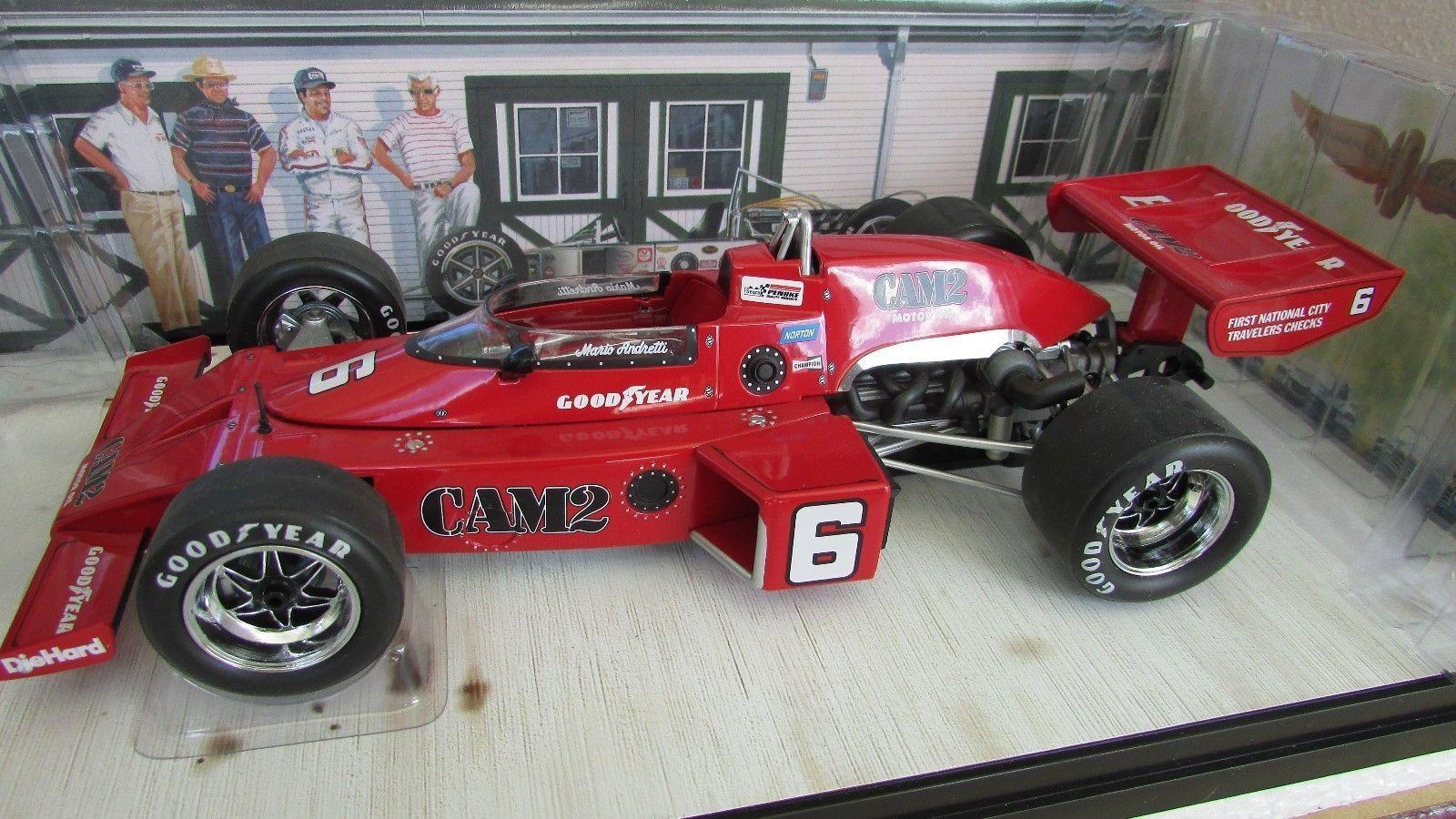 Carousel 1 1976 Mario Andretti Penske Mclaren 16 Offy Coche Carreras Indy 500