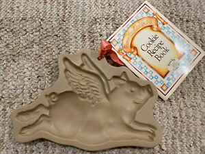 Brown Bag 1993 Mill Design Flying Pig Cookie Mold With ...