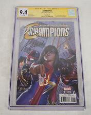 Champions #1 Vol 2 NYCC 2016 Minimates Variant Cover Marvel Comics Hot