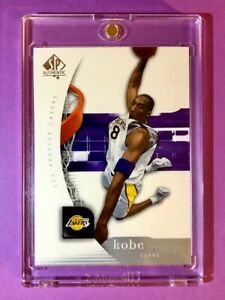 Kobe-Bryant-MINT-SP-AUTHENTIC-UPPER-DECK-HOT-LAKERS-BASKETBALL-CARD-38-Mint